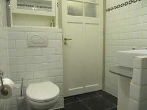 badkamer douche B&B De Wandelgids
