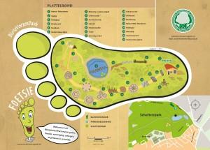 B&B De Wandelgids ligt vlakbij het blotevoetenpark